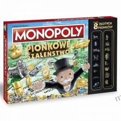 GRA MONOPOLY PIONKOWE SZALEŃSTWO HASBRO C0087 Edukacyjne