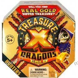 TREASURE X DRAGONS GOLD ŁOWCA SKARB ZŁOTO COBI Dla Dzieci