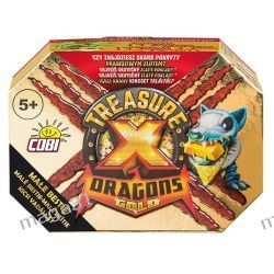 TREASURE X DRAGONS BESTIA SKARB ZŁOTO COBI
