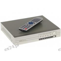 Rejestrator Cyfrowy SLIM-0411H Na 4 kamery +LAN +PILOT +USB +VGA