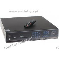 Rejestrator cyfrowy RC-16400H na 16 kamer +LAN +PILOT +USB +VGA