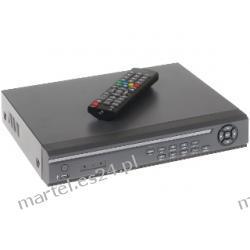 Rejestrator cyfrowy DVR-X04 na 4 kamery +LAN +PILOT +USB +VGA