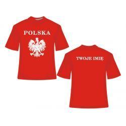 Koszulka Reprezentacja Polski + dodatkowy nadruk
