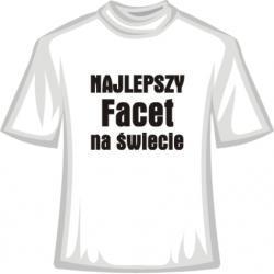 Koszulka -  Najlepszy Facet na Świecie