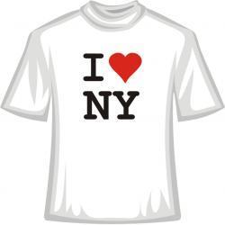 Koszulka -  I Love NY