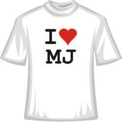 Koszulka -  I Love MJ