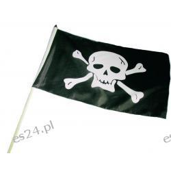 FLAGA PIRACKA MAŁA NA PATYKU