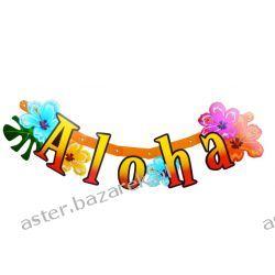BANER LITERY ALOHA