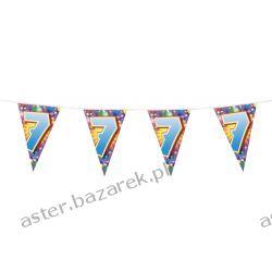 """FLAGA CYFERKA """"7"""" 6M  Kostiumy dla dziewczynek"""