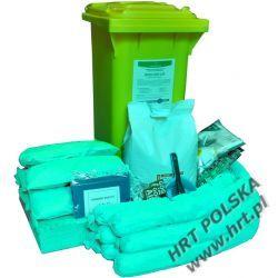 MZE-SO-120L - mobilny zestaw ekologiczny - sorbenty olejowe - 120L