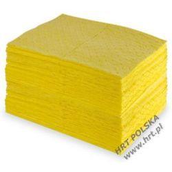 SMCH.FF.4050.100 - sorbent chemiczny - mata średnia STANDARD trójwarstwowa 0,40m x 0,50m - 100 szt. z dwustronną warstwą FF Pozostałe