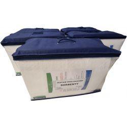 EKO-OIL 60L - ekologiczny zestaw - sorbenty olejowe 60L / ATEST Odzież robocza i BHP