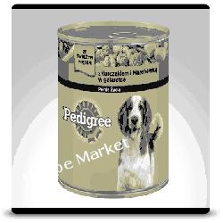 Karma dla psa Kurczak, Marchewka