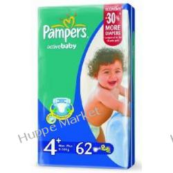 Pampers Active Baby 4 + 62 szt