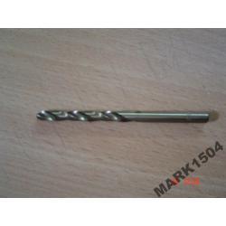 Wiertło wiertła do metalu KOBALT COBALT 2 mm CO-HSS Wiertła