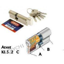 Wkładka wkładki ABUS atest 5,2 C 50/30g nikiel