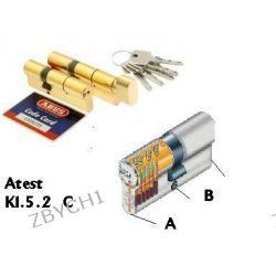Wkładka wkładki ABUS atest 5,2 C 50/40 DUO mosiądz