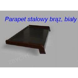 Parapety Stalowe - Parapet ( biały i brązowy)szer, 90 mm