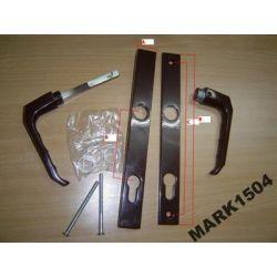 Klamka Klamki do DRZWI Aluminiowych K - K dł/sz Żaluzje