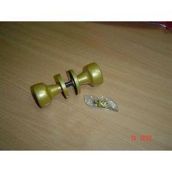 KLAMKA KLAMKI metalowa malowana GAŁKO-GAŁKA złota