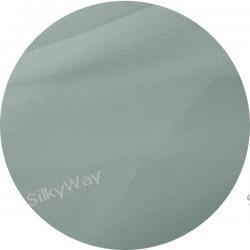 :  Krepa z jedwabiu naturalnego 100% w kolorze srebra   -   10 cm