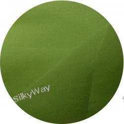 :  Krepa z jedwabiu naturalnego 100% w kolorze oliwkowym   -   10 cm