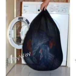 Worek do prania duży 8KG, biały lub czarny