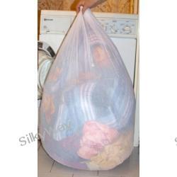 Worek do prania duży 10KG, biały lub czarny