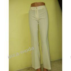 Spodnie ecri rozm.34