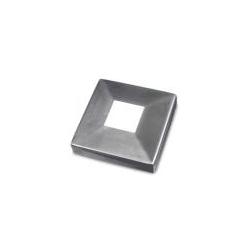 Kwadratowa rozeta maskująca do rury 40x40