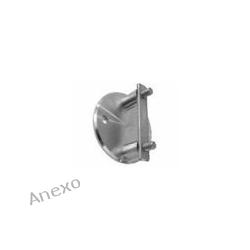Mocowanie boczne słupka do rury 42,4 i dystansie 50 mm