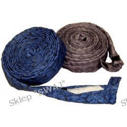 Pokrowiec na wąż ssący 10,5m naciągany na wąż, kol. szary, niebieski, beżowy
