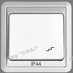 Łącznik 1-biegunowy schodowy IP44 FORUM