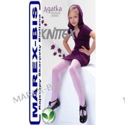 Rajstopy AGATKA 2-12 lat KNITTEX w prążek