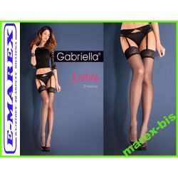 Gabriella Komplet SHADOW PAS i POŃCZOCHY SEXY 3/4