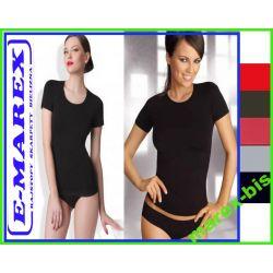 Gatta T-shirt BEZSZWOWA Bluzka z krótkim  # S  TOP