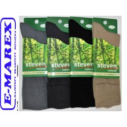 Steven Skarpety skarpetki bambusowe 41-43 oddychaj