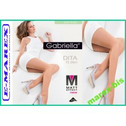 Gabriella Rajstopy Dita 15  Matt Effect Matowe # 4