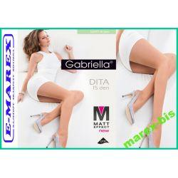 Gabriella Rajstopy Dita 15  Matt Effect Matowe # 5