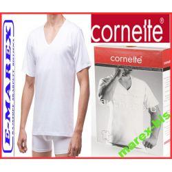 Cornette  Koszulka Authentic 203 w serek # L