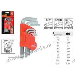 Komplet kluczy imbusowych - przegubowe - 9 szt. MN-54-117