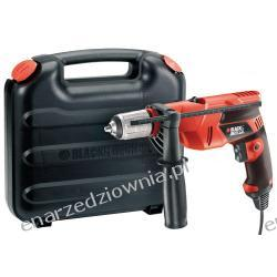 BLACK & DECKER Wiertarka udarowa 650 W, 13 mm, kufer, KR653K