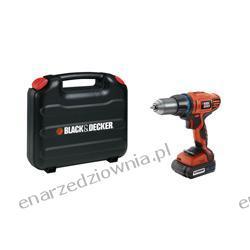 BLACK & DECKER Wiertarko-wkrętarka 14,4 V z udarem (2 akumulatory), HP148F4LBK