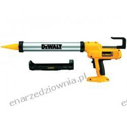 DeWALT Pistolet uszczelniający 18 V, z torebką 600 ml i wkładem 310 ml (bez akumulatora i ładowarki), DC547