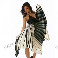 Śliczna efektowna sukienka LATYFA S/M Sukienki wieczorowe