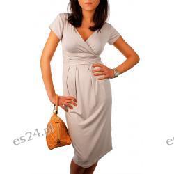 Efektowna sukienka ciążowa Sukienki wieczorowe