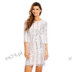 Śliczna srebrna sukienka cekiny S Sukienki wieczorowe