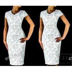 """Seksowna sukienka """"Edyta""""duże rozmiary 48"""