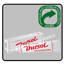 Pasta polerska DURSOL do metali ,nierdzewki ,aluminium 200 ml