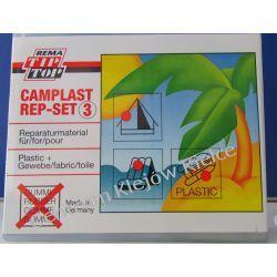Camping Plastic CAMPLAST CEMENT TipTop klej do miękkiego pvc w dużym zestawie   Sporty wodne